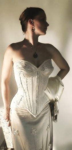 Wedding-corset 'Alexis'