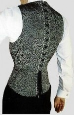 Corset-vest (Rear-view)