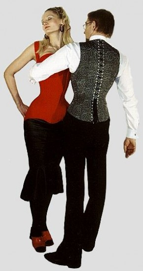 Men's Corset-vest 'Amadeo'